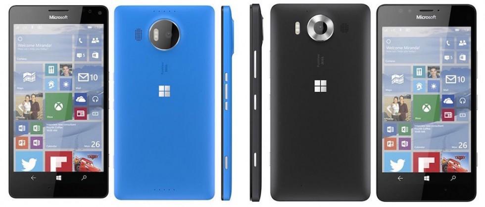 Leaked Microsoft Lumia renders reveal premium Windows phones