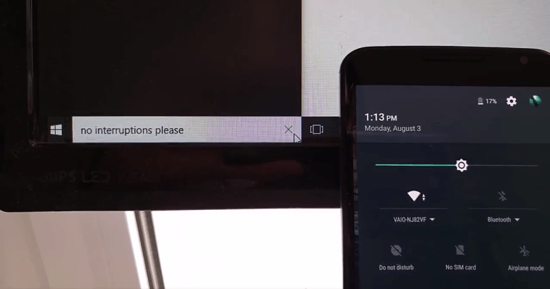 Use Cortana to control your Android phone from Windows 10