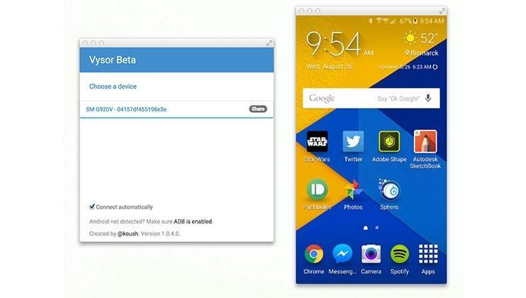 Koush releases app that mirrors Android to Chrome - SlashGear