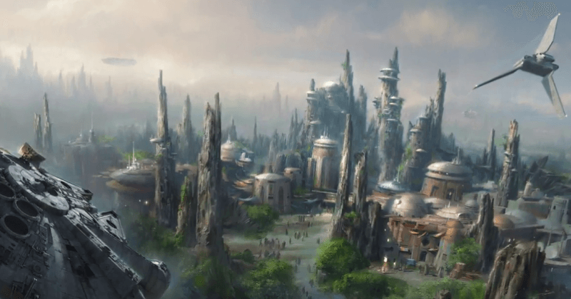 Disney to build two 14-acre Star Wars themed lands