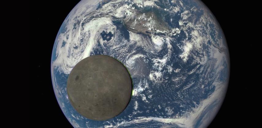 NASA's EPIC new photos show our moon's brilliance