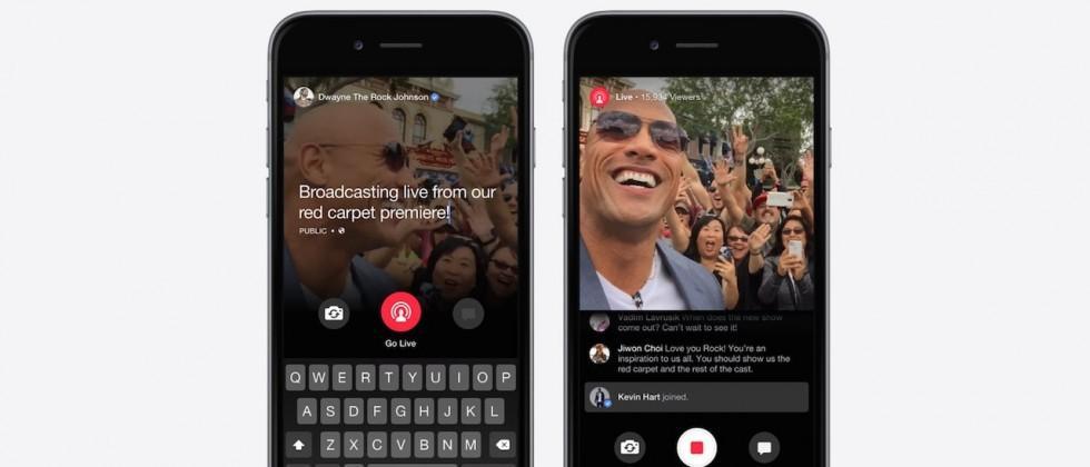 Facebook Live clones Periscope for celebrities