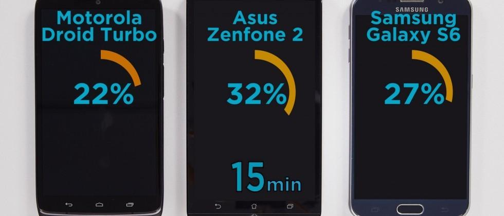ASUS ZenFone 2 claims fastest charging smartphone title