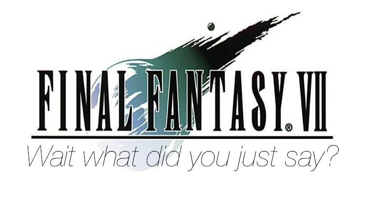 Final Fantasy VII released to iOS today with one big oddity