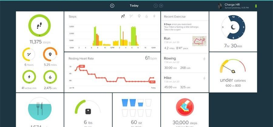 Fitbit Universal Windows app for Windows 10 supports all your devices