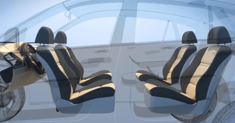 "Ford patents self-driving ""lounge"" car"