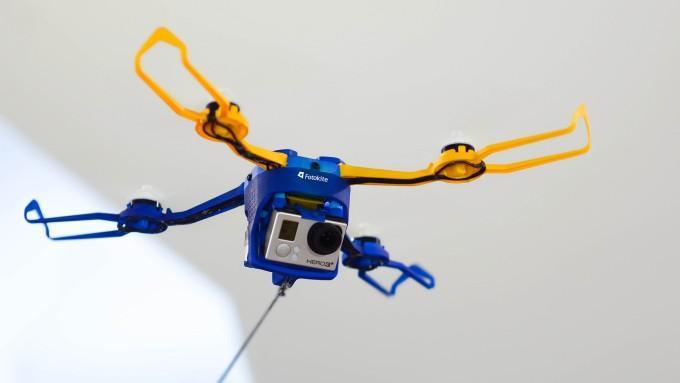 Fotokite Phi drone is a flying camera on a leash - SlashGear