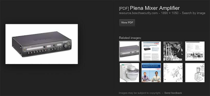 Google is indexing images from PDF files