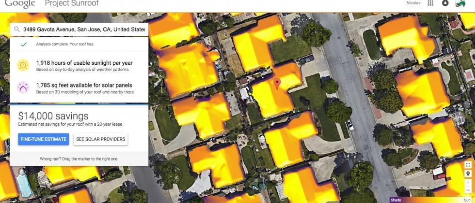Google Project Sunroof takes guesswork out of solar switch
