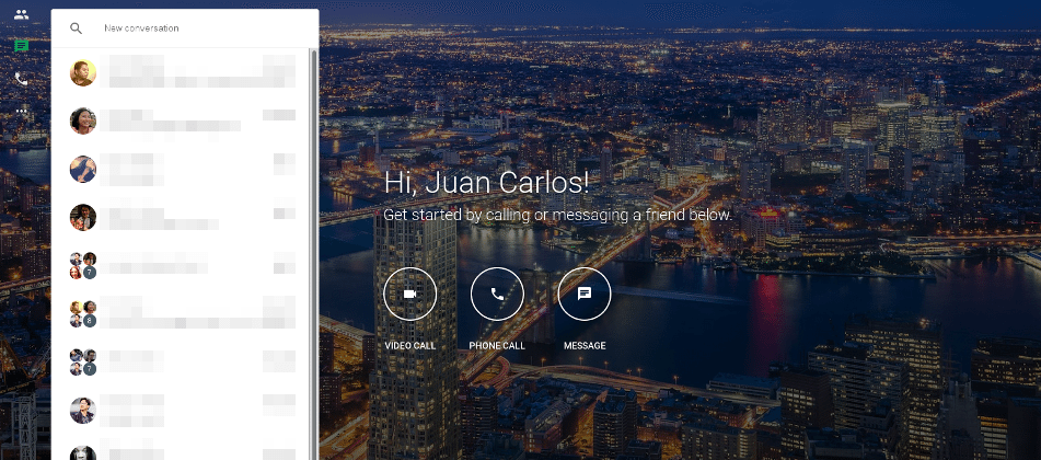 Google Hangouts now has its own hangout on the Web