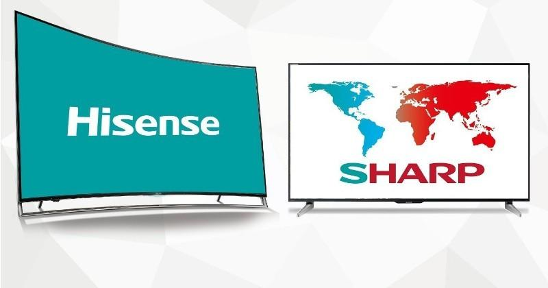 Hisense will soon run Sharp's TV business in America