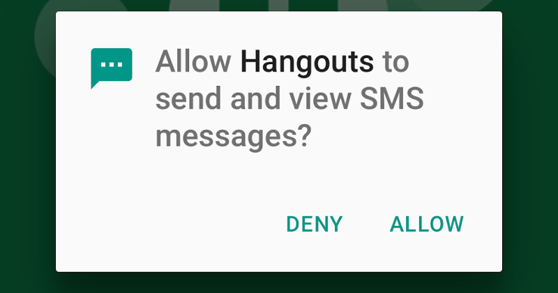 Android 6.0 apps can ask permissions only when needed