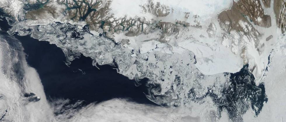 Incredible and ominous, Arctic glacier sheds vast iceberg