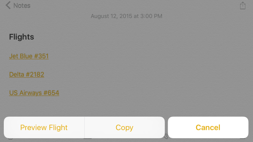 iOS 9, OS X El Capitan to feature native flight tracking