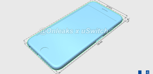 iPhone 6s CAD renders reveal thicker anti-bendgate frames