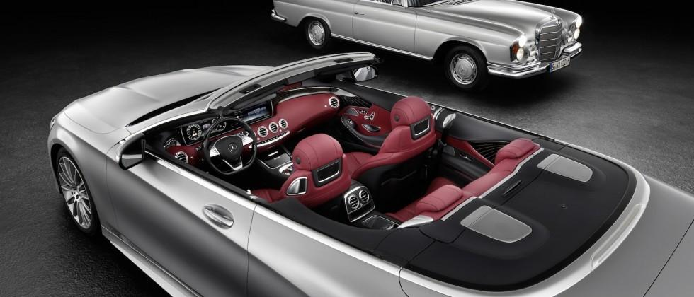 Mercedes can't stop teasing its super-luxe S-Class Cabriolet