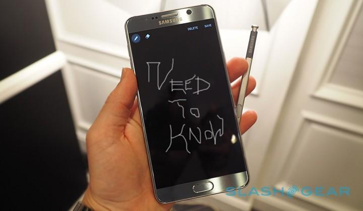 Galaxy Note 5: a few important points