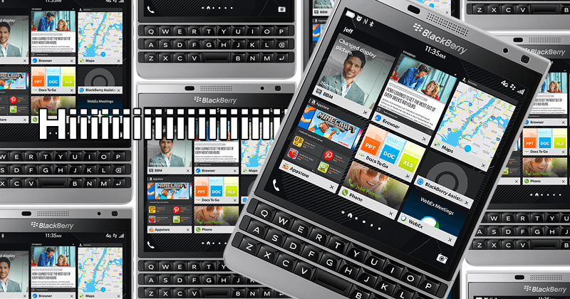 BlackBerry Passport Silver Edition revealed, so very shiny