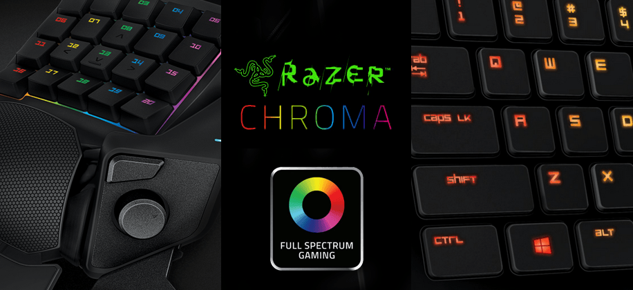Razer Chroma line expands: Orbweaver, Deathstalker join crew
