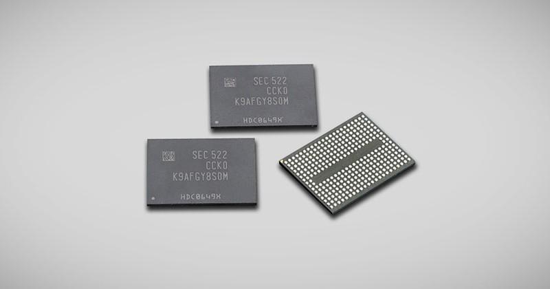 Samsung's new SSD 3D V-NAND chips boast 256 Gigabits