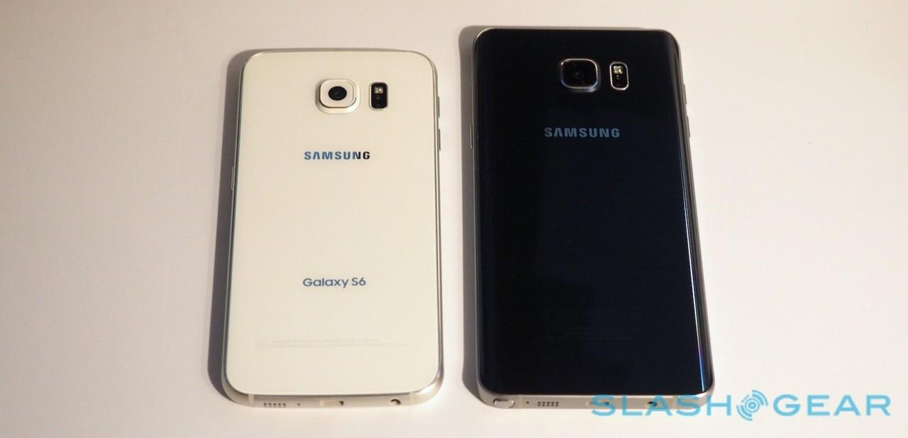 Samsung Galaxy S6 vs Galaxy Note 5