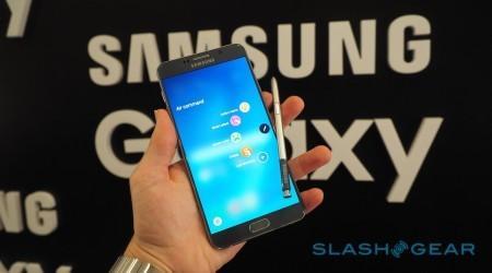 Samsung Galaxy Note 5 hands-on gallery