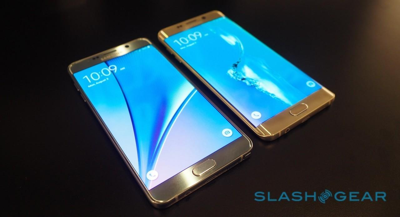 Samsung Galaxy Note 5 and Galaxy S6 edge+