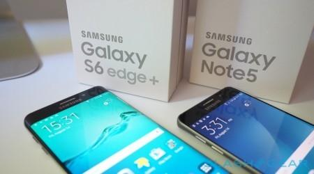 Samsung Galaxy Note 5 and Galaxy S6 edge+ unboxing gallery