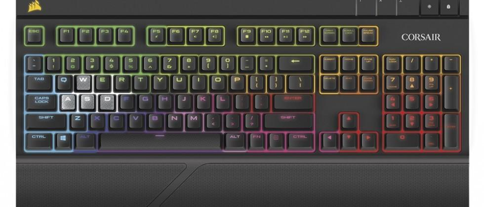 Corsair and Cherry to release silent mechanical keyboard