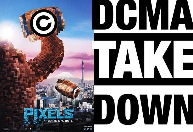 """DCMA takedowns sent to any Vimeo video with """"Pixels"""" in it"""