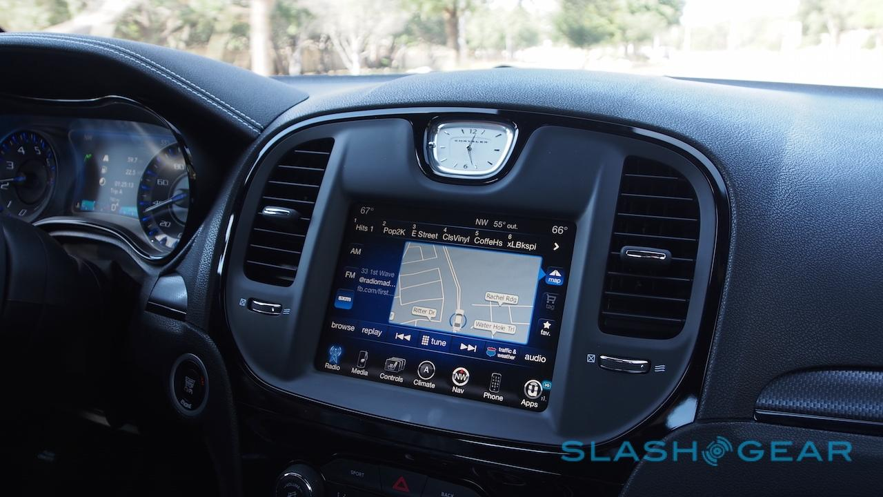 Uconnect in the 2015 Chrysler 300