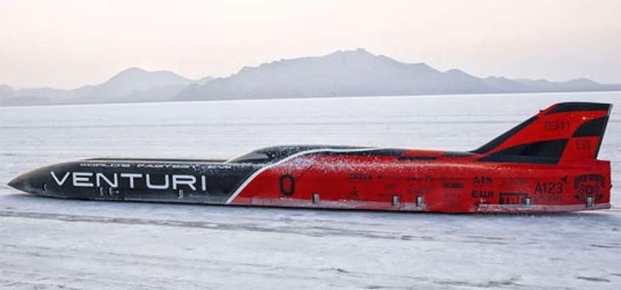 Venturi VBB-3 electric racer sets land speed record