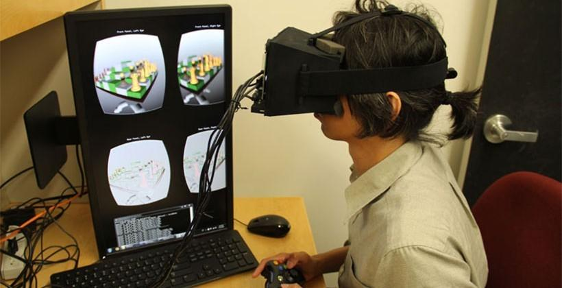 Stanford researchers show off VR headset that reduces nausea