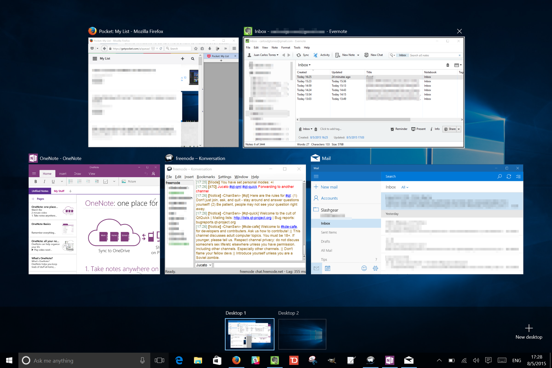 A Week with Windows 10: The Good, the Bad, and the Ugly ...
