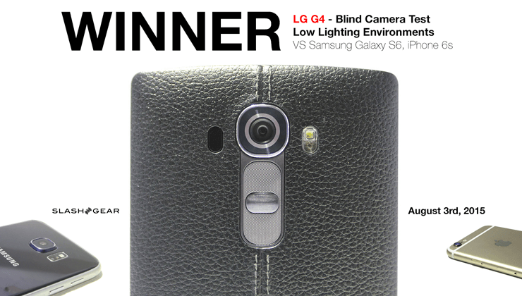 LG G4 Wins Blind Camera Test vs iPhone 6 and Galaxy S6 in low light
