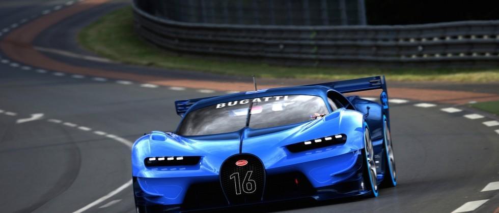 Bugatti Vision Gran Turismo Makes World Debut in Frankfurt, Signals Next Bugatti