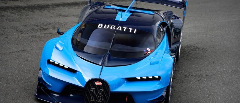 Bugatti Vision Gran Turismo gallery