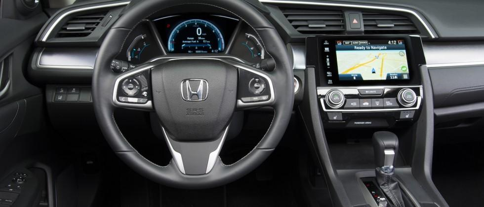 Honda pushes CarPlay and Android Auto in 2016 Civic