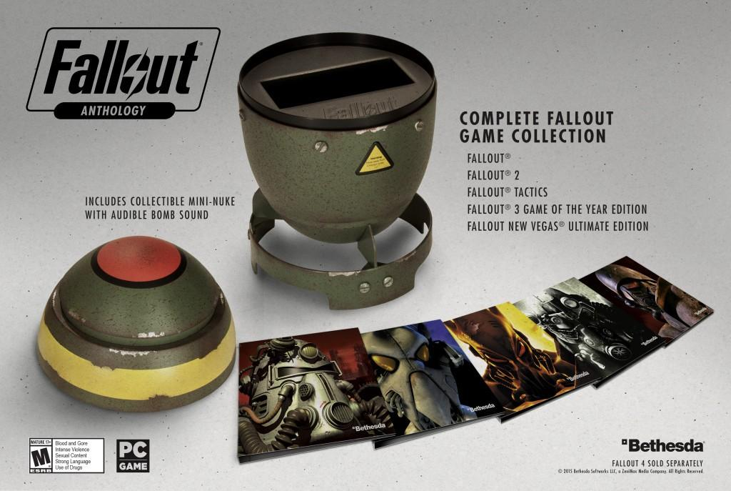 Fallout Anthology arrives in mini nuke shell just in time for Fallout 4