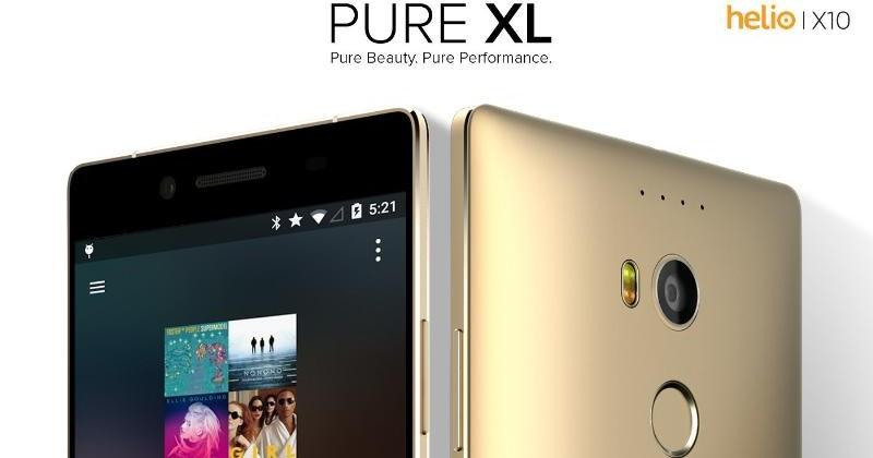 BLU outs Pure XL with MediaTek Helio X10, Vivo Air LTE