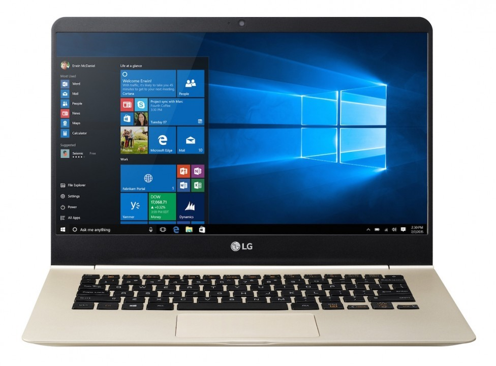 LG Gram laptop looks to topple MacBook Air from ultra-light throne