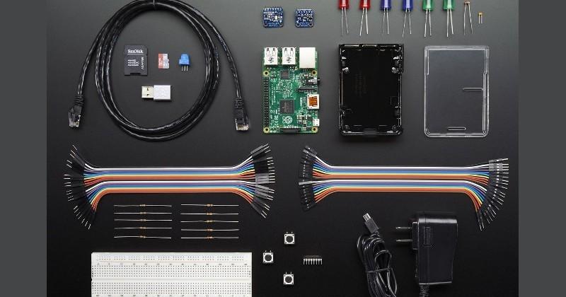 Adafruit Windows IoT Core Starter Kit gets the ball rolling