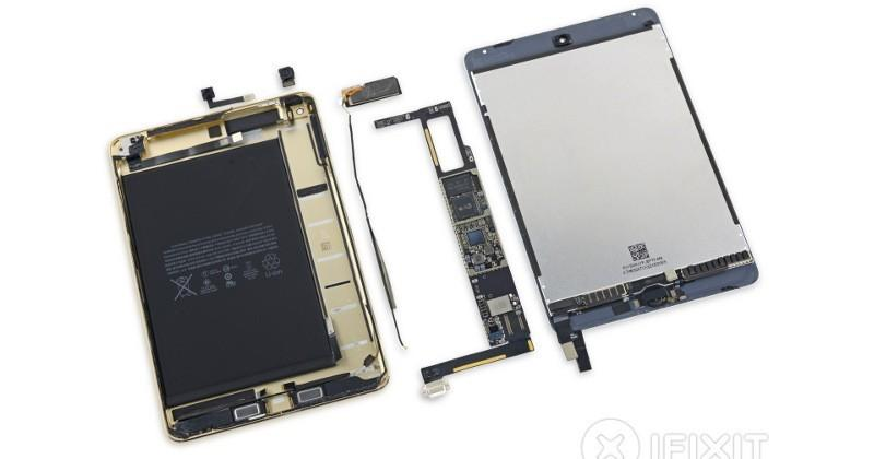 iPad Mini 4 teardown: a hard to repair mini iPad Air 2
