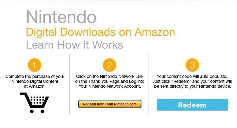 Amazon launches Nintendo Digital Downloads page
