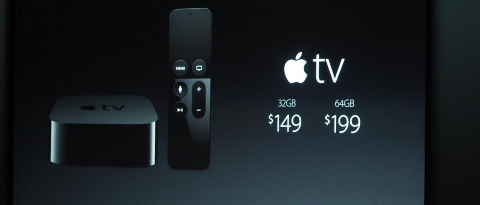 Apple TV pricing and release details revealed with new remote