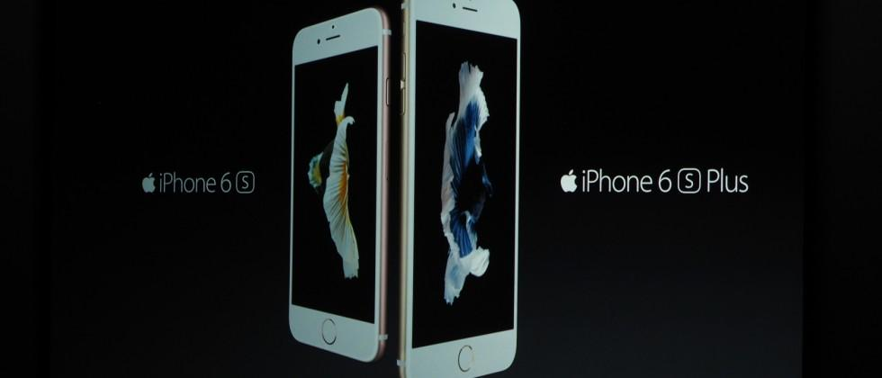 Apple iPhone 6s and iPhone 6s Plus official