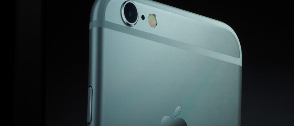 iPhone 6s: 12MP iSight camera, Retina Flash, 4k video recording
