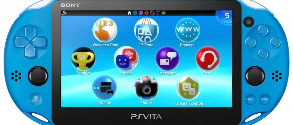 Aqua Blue PlayStation Vita comes exclusively to GameStop in November
