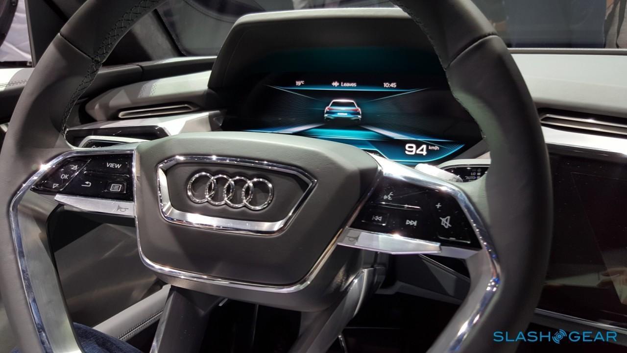Audi e-tron Quattro Concept Interior 6