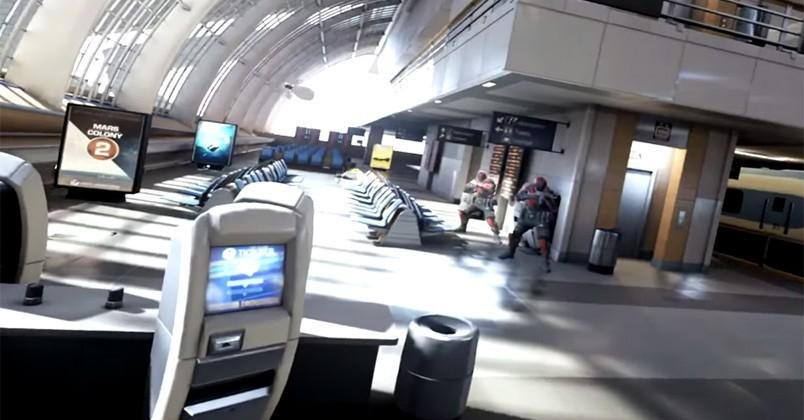Epic Games demos 'Bullet Train' game for Oculus Rift